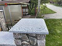 Кришки і парапети на паркан з покостовського граніту, фото 1