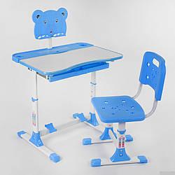 Парта со стульчиком P 2215 Синяя