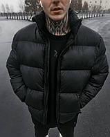 Куртка мужская зимняя ОВЕРСАЙЗ до -30*С Homie черная   Пуховик мужской зимний ЛЮКС качества