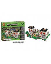 """Конструктор Bela  """"Крепость"""" Lego Майнкрафт, Minecraft, 990 деталей"""