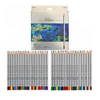 Цветные карандаши MARCO (Марко) Raffine 7100-48CB, Набор 48 цветов