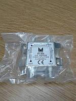 Splitter DI-302 ALCAD (сат сплит с проходным питанием на 3 абонента)