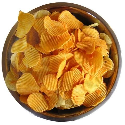 чипсы картофельные во фритюре