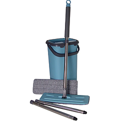 Швабра с ведром и автоматическим отжимом Stenson MH-2733F Blue