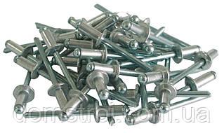Комплект заклепок стальных 5.0мм*8.0мм-упаковка 500 шт. INTERTOOL RT-5008