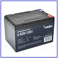 Тяговый аккумулятор Merlion 6-DZM-12 12V 12Ah M5