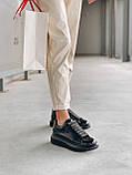 Стильні кросівки Alexander McQueen (Олександр Маквин) Light Beige Patent LUX QUALITY, фото 9