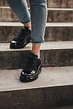 Стильні кросівки Alexander McQueen (Олександр Маквин) Light Beige Patent LUX QUALITY, фото 5