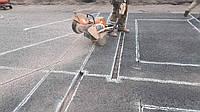 Нарезка швов в асфальтобетонном покрытии, фото 1