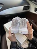 Стильні кросівки Alexander McQueen White LUX QUALITY (Олександр Маквин), фото 4
