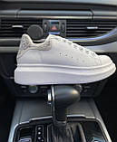 Стильні кросівки Alexander McQueen White LUX QUALITY (Олександр Маквин), фото 5