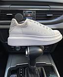 Стильны кроссовки Alexander McQueen White LUX QUALITY (Александр Маквин), фото 5