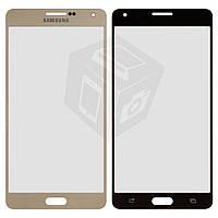 Защитное стекло корпуса для Samsung Galaxy A7 A700, золотой, оригинал