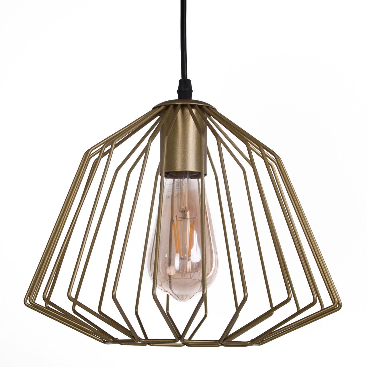 Потолочный подвесной светильник Atma Light серии Darth P280 Gold