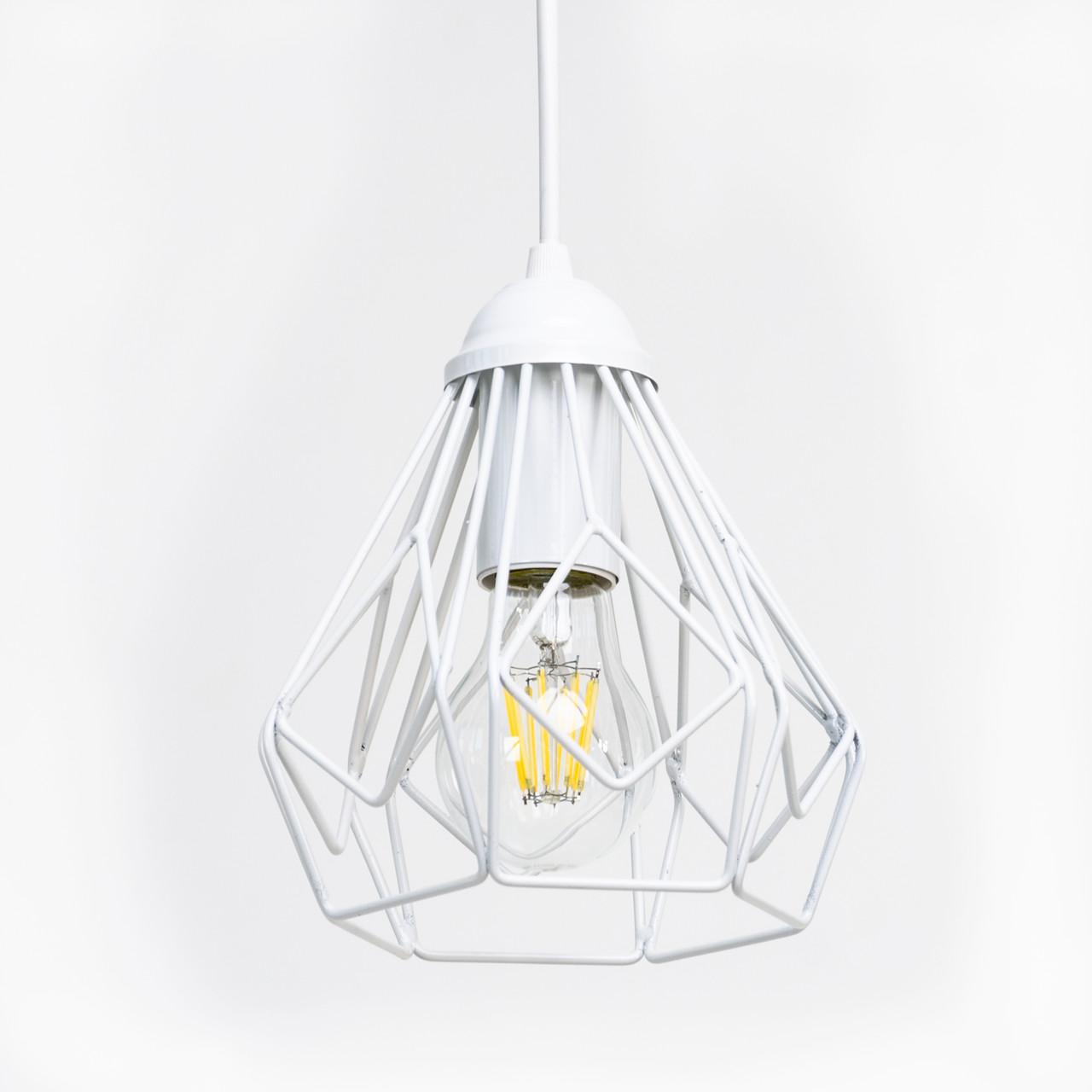 Потолочный подвесной светильник Atma Light серии Bevel P165 White