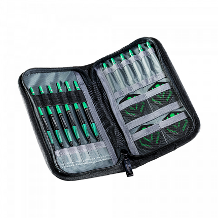 Футляр для дротиков дартс Winmau Urban-Slim dart case черный, фото 2