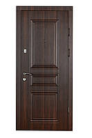 Двери входные металлические Булат К4 850*2050/950*2050 122 орех темный