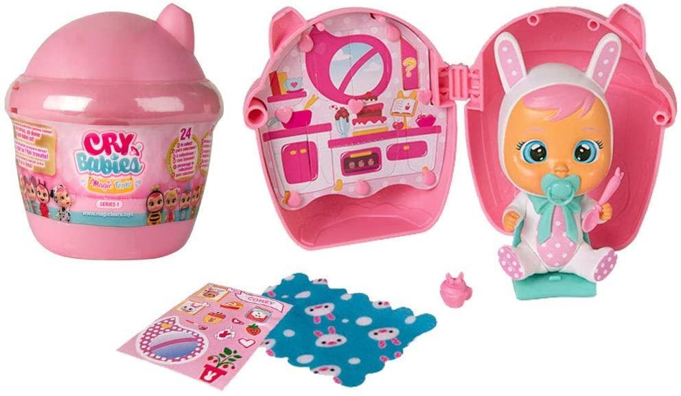 Кукла пупс-сюрприз Плакса плачущий младенец в домике Cry Babies Magic Tears Bottle House 97629