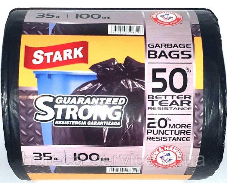 Мусорные пакеты Stark 35 л. 100 шт.
