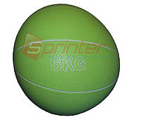Мяч для атлетических упражнений (медбол). Вес 6кг, d-20см.