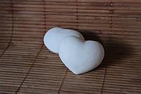 """Бомбочка для ванни """"Серце"""" тонізуюча біла"""