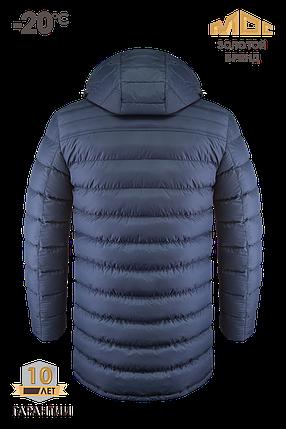 Зимняя мужская удлиненная куртка MOC арт. 0090, фото 2