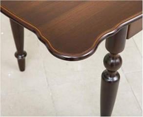 Стол обеденный Омега орех темный (Микс-Мебель ТМ), фото 2