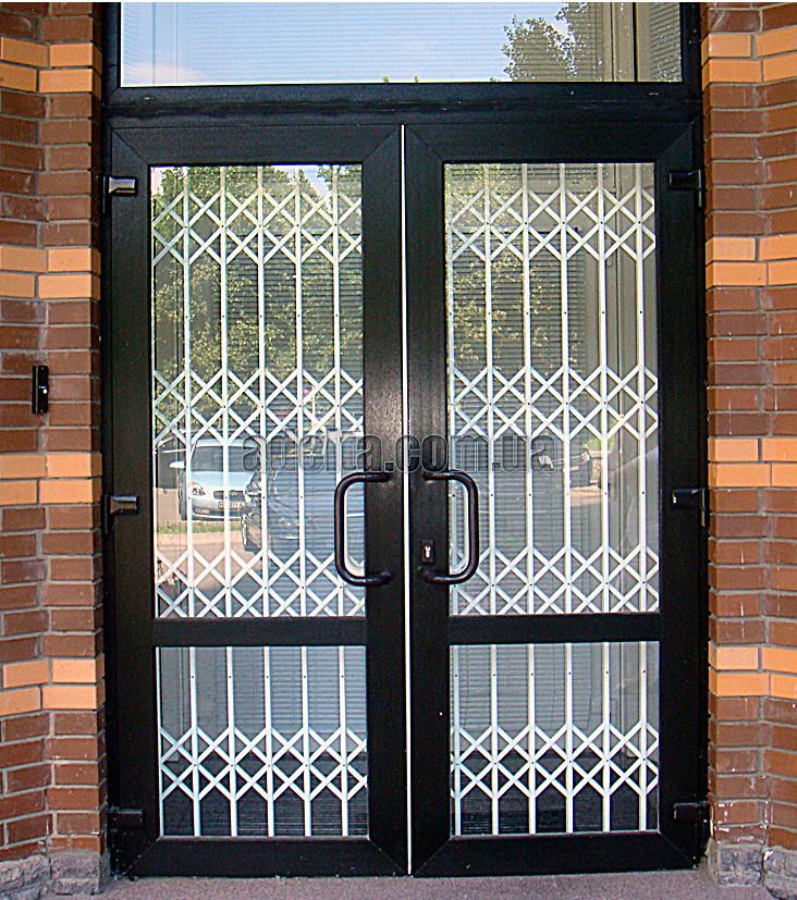 Раздвижная решетка на дверь Шир.1750*Выс3000мм для дома и квартиры