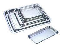Лоток медицинский прямоугольный 215х105х20 нерж.сталь