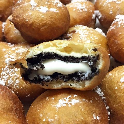 Печенье OREO во фритюре