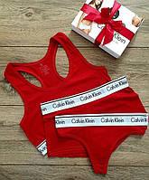 Женский набор тройка C.alvin K.lein 3в1 underwear
