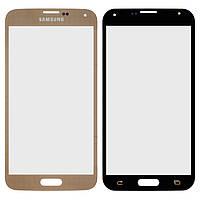 Защитное стекло корпуса для Samsung Galaxy S5 G900, золотой, оригинал