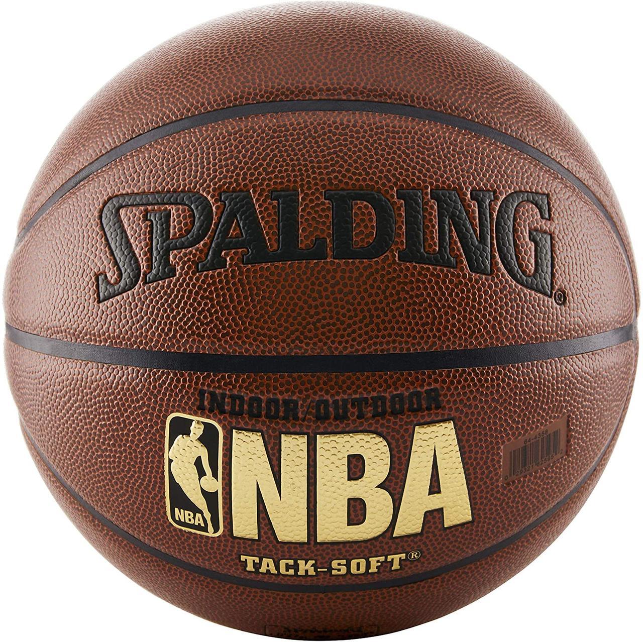 Баскетбольный мяч Spalding NBA Tack-Soft IndoorOutdoor Basketball размер 7 Оригинал