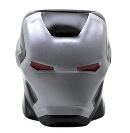 Кружка Железный человек (ВОИТЕЛЬ) фигурная чашка MARVEL ABC, фото 2