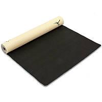 Коврик для йоги джутовый 3мм Record FI-7157-2