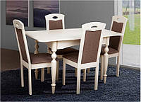 Стол обеденный Омега бежевый (Микс-Мебель ТМ)