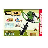 Бензобур PROCRAFT PROFESSIONAL GD52