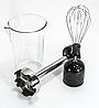 Многофункциональный кухонный блендер погружной с миксером 5 в 1 измельчитель Domotec, Мощность 800W 5106 - Фото