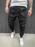 Мужские джинсы-карго 2Y Premium 8048 black