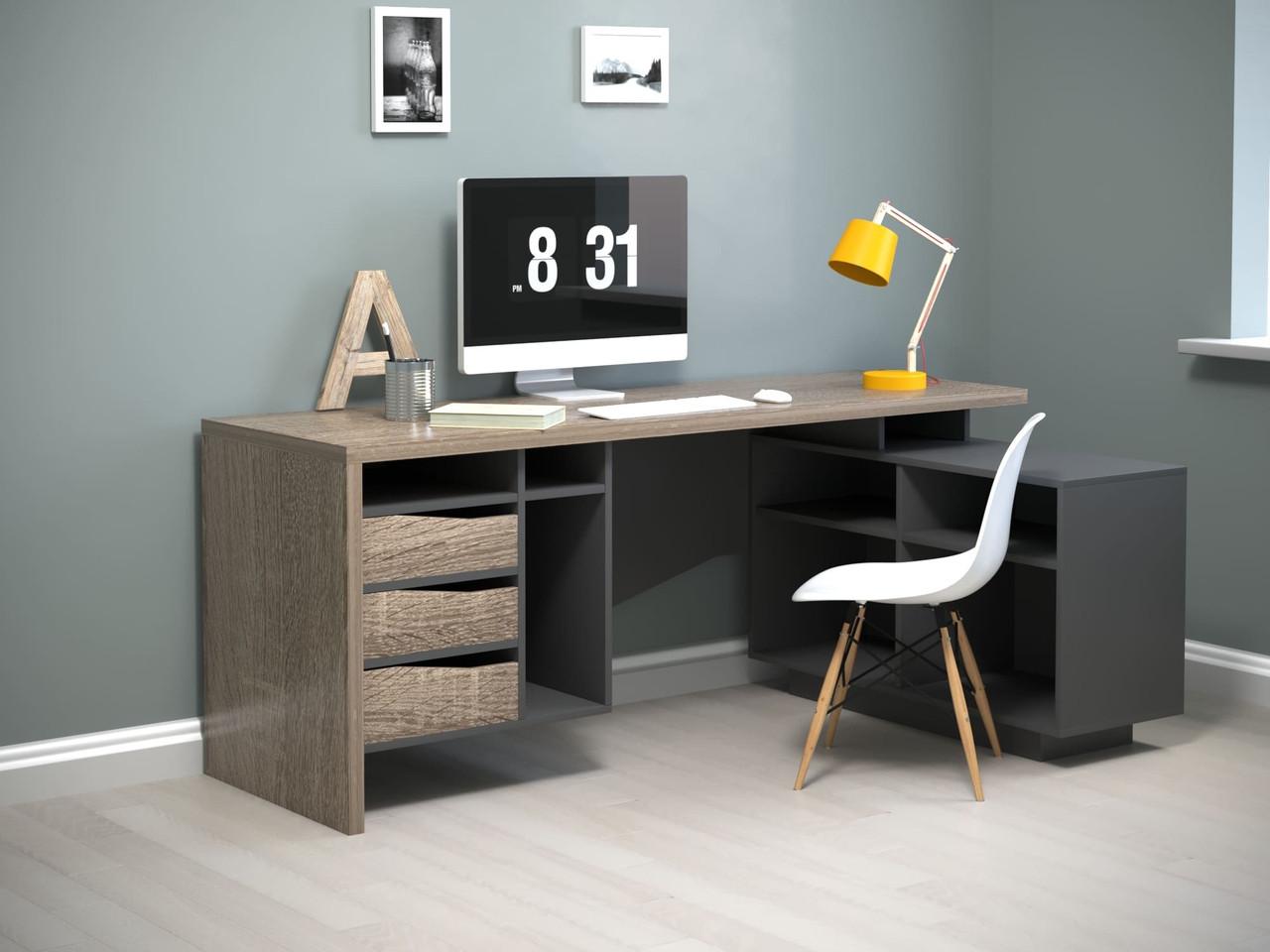 Комп'ютерний стіл Connect 2 (hub_05020314)