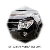 Реснички на фары Mitsubishi PAJERO 1992-2000 г.в. митсубиши паджеро