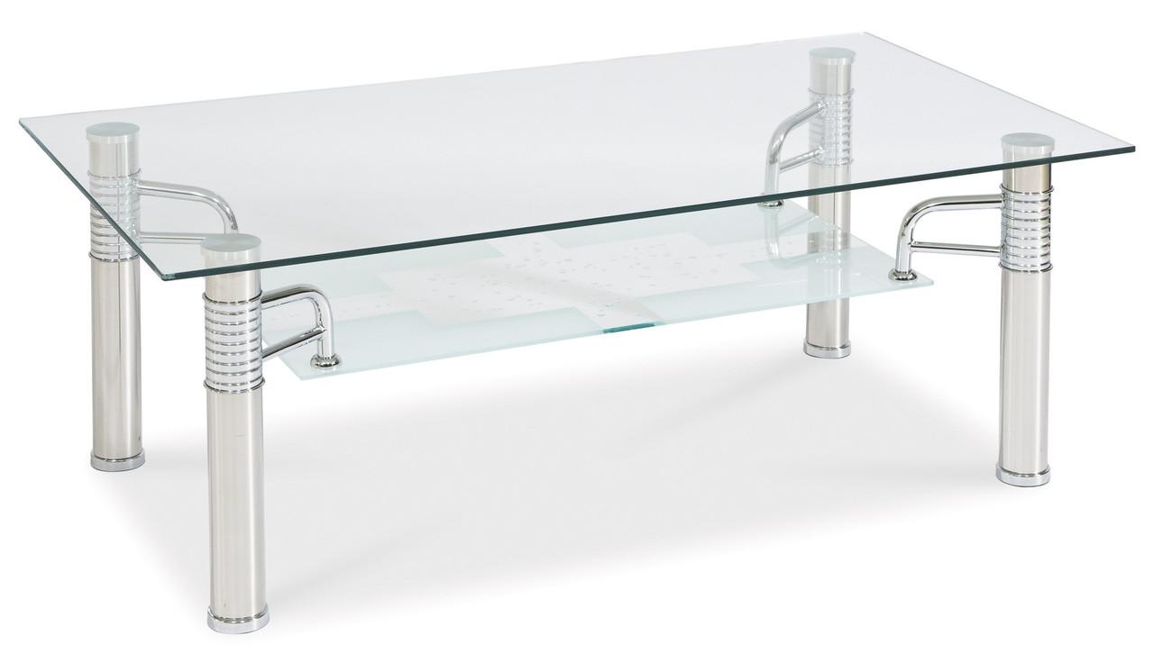 Журнальний стіл Меблі Signal Reni B II Прозорий (RENIB2T)