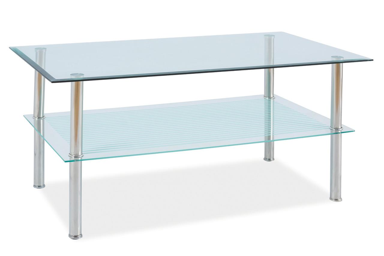 Журнальний стіл Меблі Signal Pixel B 110х60 Прозорий (PIXEL2TCH)