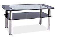 Журнальний стіл Меблі Signal Rava C Прозорий (RAVACTCCH)