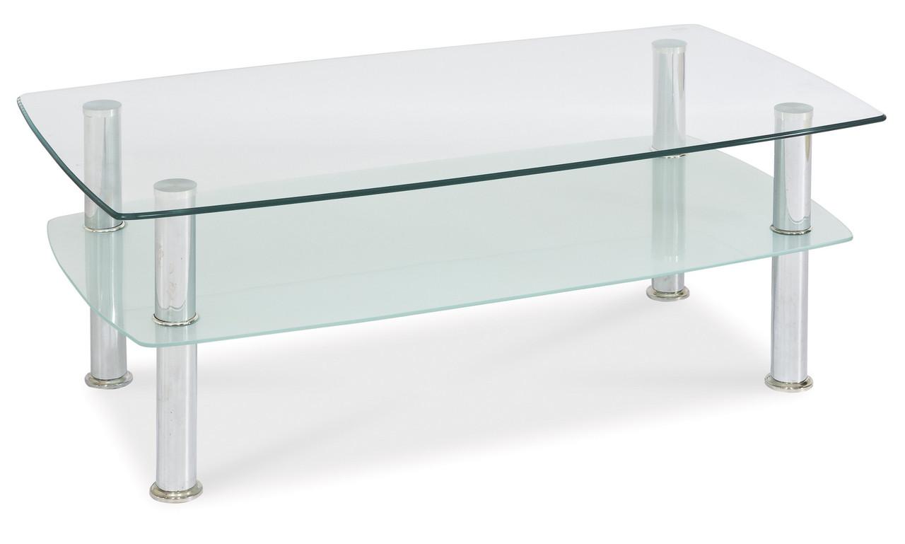 Журнальний стіл Меблі Signal Panda Прозорий (PANDATMLCH)