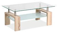 Журнальний стіл Меблі Signal Lisa Basic Дуб сонома (LISABSO)