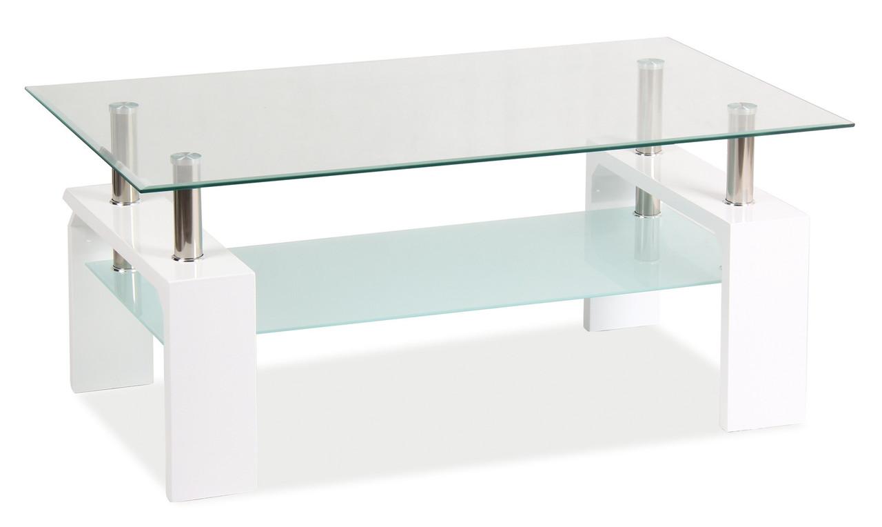 Журнальний стіл Меблі Signal Lisa Basic II Білий (LISABASIC2TB)