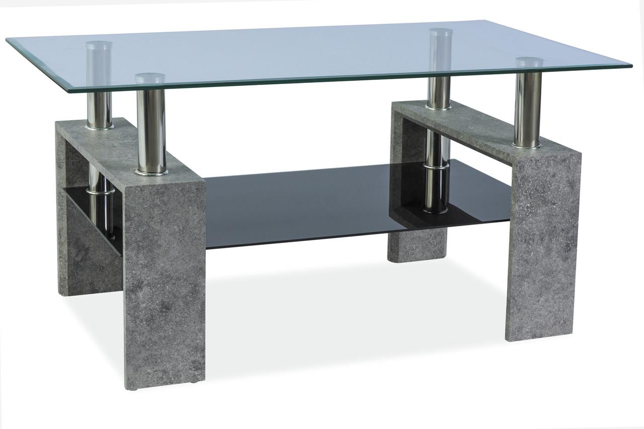 Журнальний стіл Меблі Signal Lisa II Сірий (LISA3TCSZK)