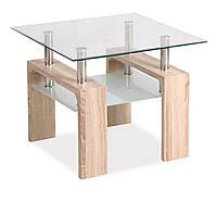 Журнальний стіл Меблі Signal Lisa D Дуб сонома (LISADTDS)