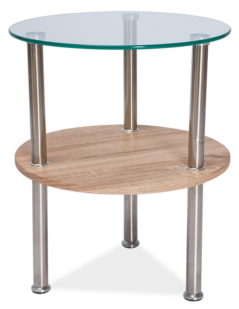 Журнальний стіл Меблі Signal Ivet Прозорий (IVET)